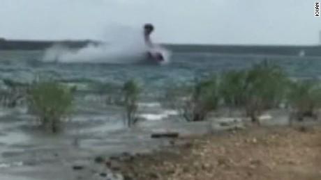 small plane crash lake travis texas pkg _00000105