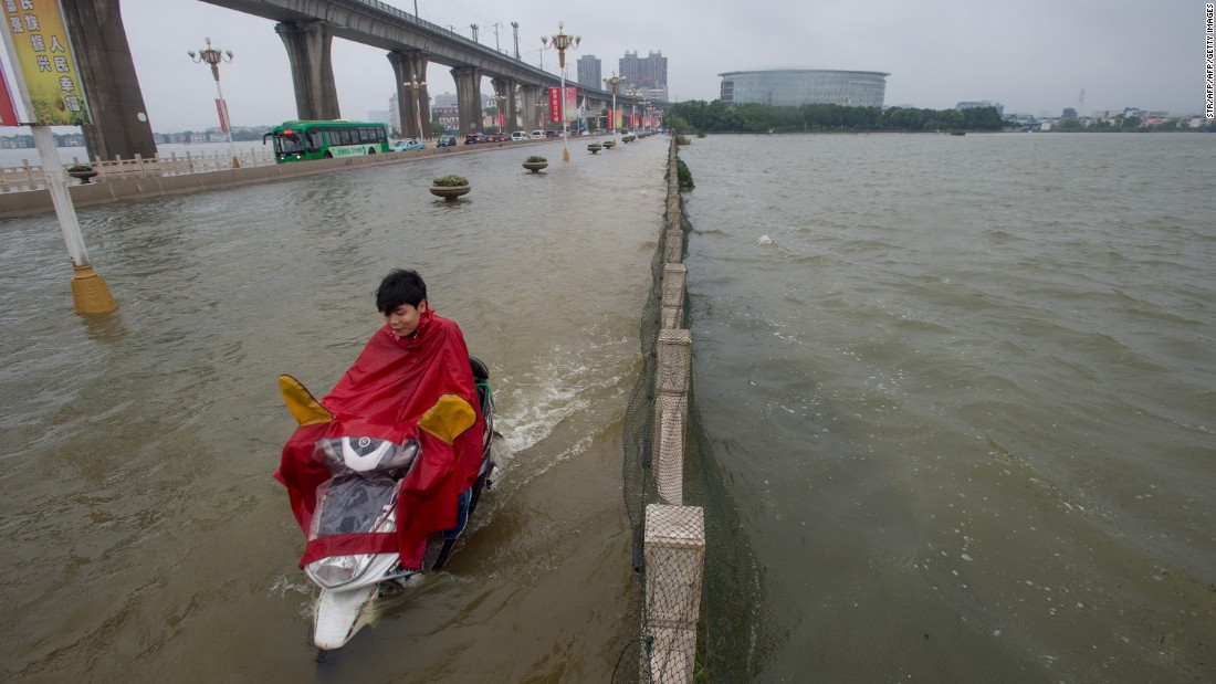 Three days of heavy monsoon rain in Hubei left 22 people missing or dead, according to state-run news agency Xinhua.