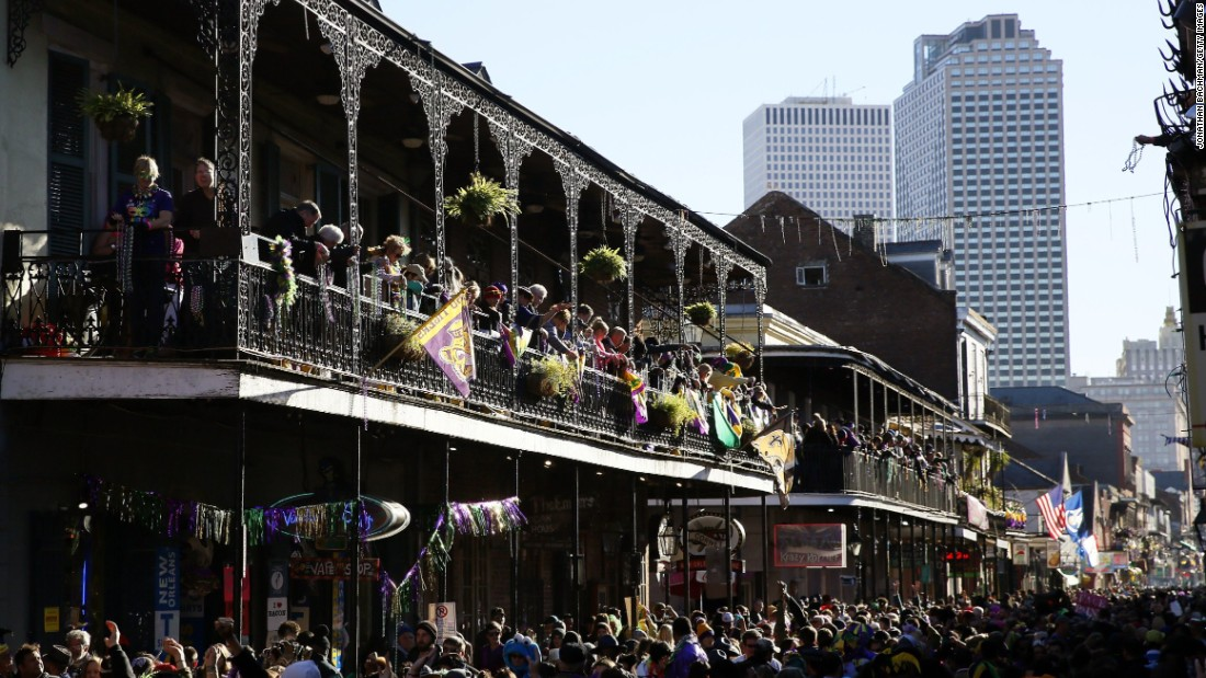 "While revelers pack Bourbon Street during Mardi Gras in New Orleans, Louisiana, anytime is a good time to enjoy the region's distinctive jazz and cuisine. ""It's impossible not to love New Orleans—the food, the fun, those balconies in the French Quarter,"" says Clemence. ""These days, there's so much going on outside of that neighborhood, in the artsy Warehouse District, the grand Garden District and leafy Audubon Park."""