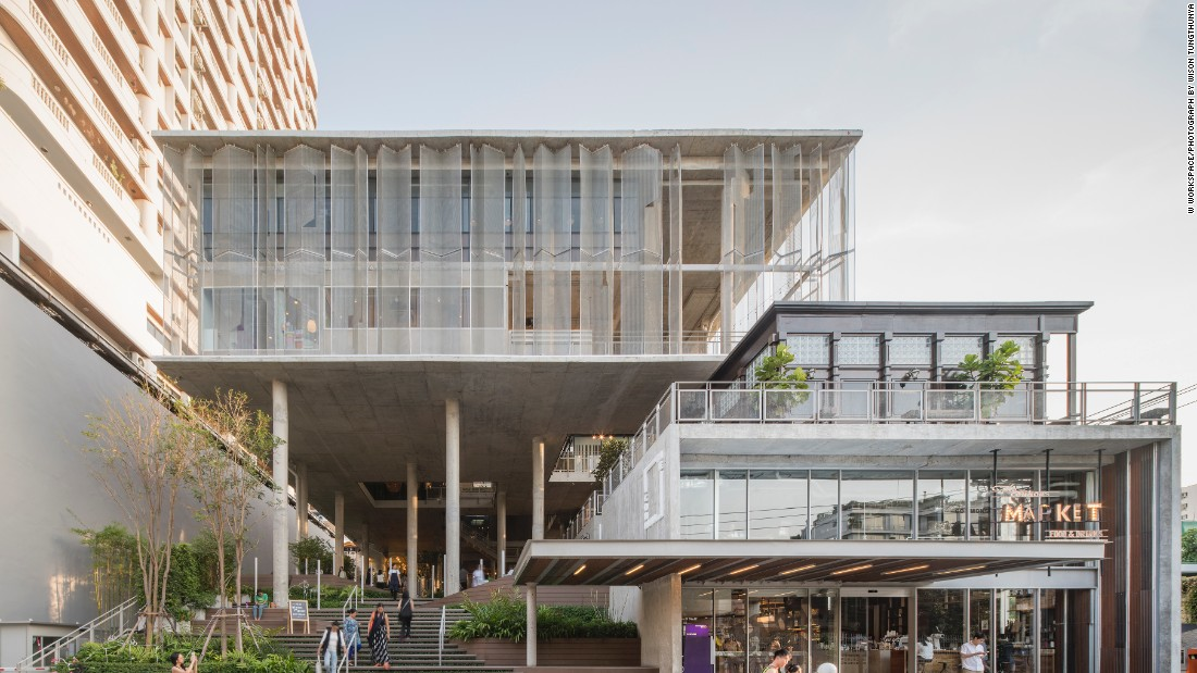 Designed by Thailand's Department of Architecture, The Commons in Bangkok has become a hit with local foodies and shoppers. It has been nominated in the Shopping category.
