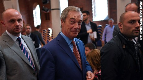 As the UKIP's leader, Nigel Farage has long campaigned against the European Union.