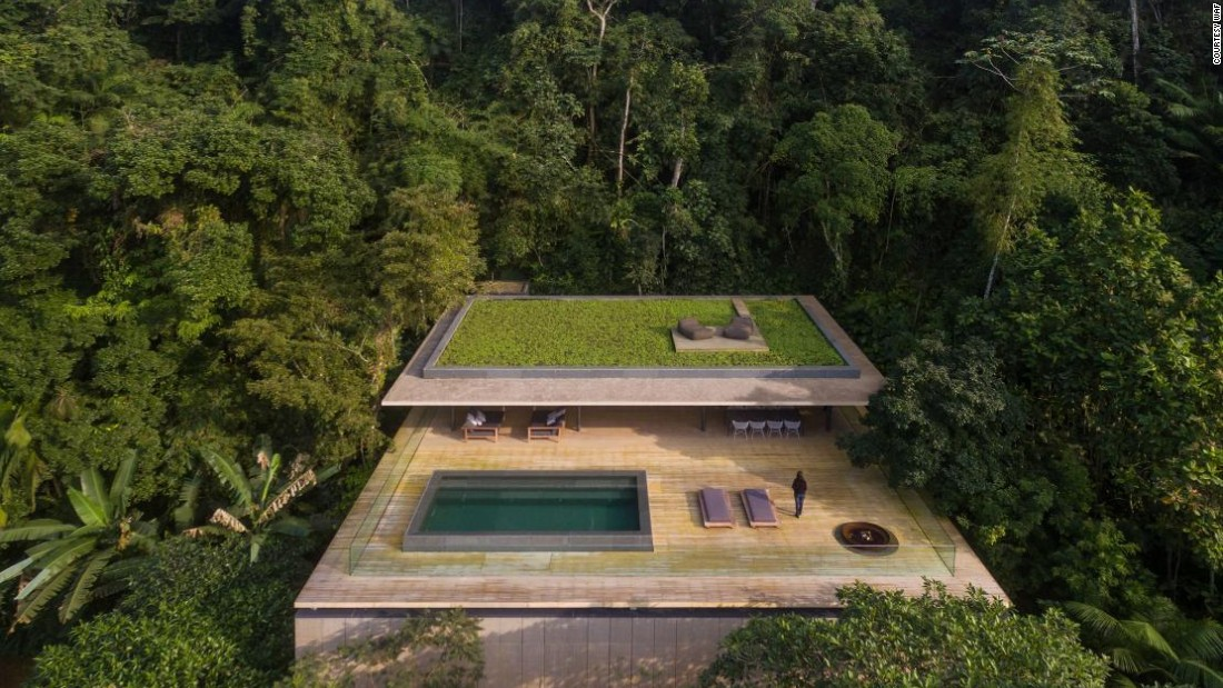 With a swimming pool on the roof and stunning natural surroundings, the Jungle House by MK 27 Studios is a contender for the House award in Completed Buildings.