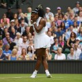 Serena Williams; Wimbledon 2016; against Svetlana Kuznetsova