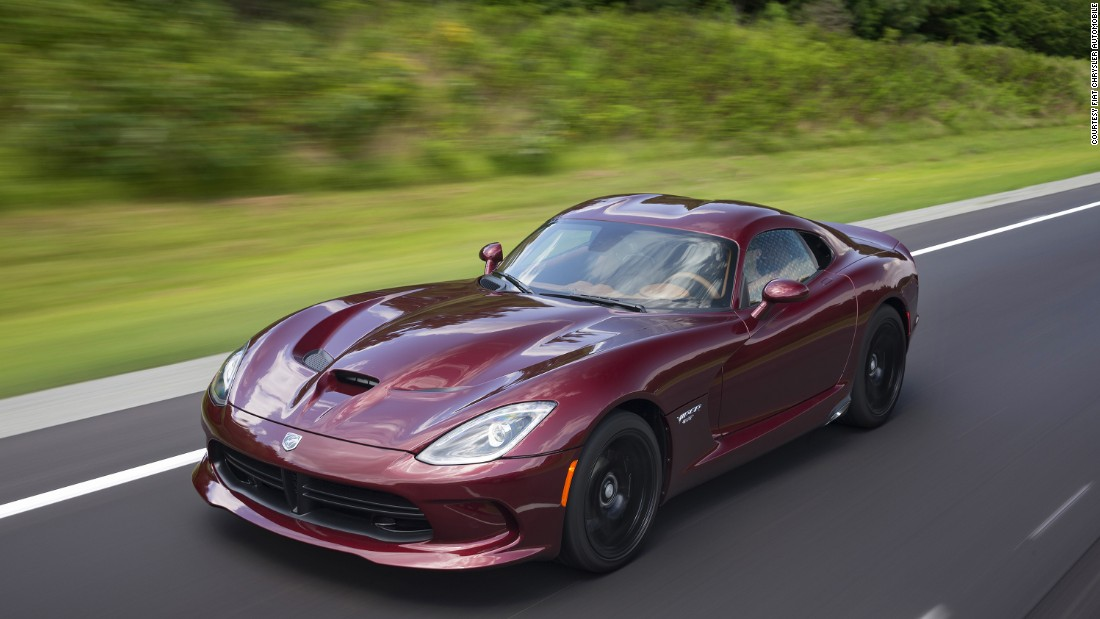 The Viper evolved into a supercar-fast coupe in its later generations.
