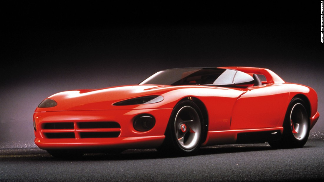 The original Viper concept stunned car fans when it first appeared in 1989 at the Detroit Motor Show.