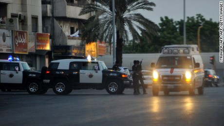 One attack near the U.S. Consulate in Jeddah