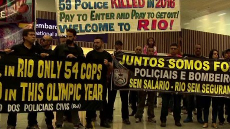 Rio police: We won't be able to protect you