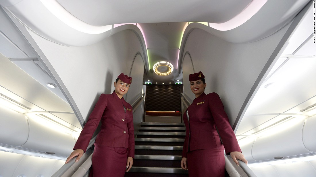 "Qatar Airways, Qatar's state-owned flag carrier, was named 2016's second-best airline in the world by Skytrax, having claimed the top spot in 2015. ""Business Class in Qatar Airways's new aircrafts like A350 or B787 is a top-notch product,"" says 202countries from Hanau, Germany. <br />"