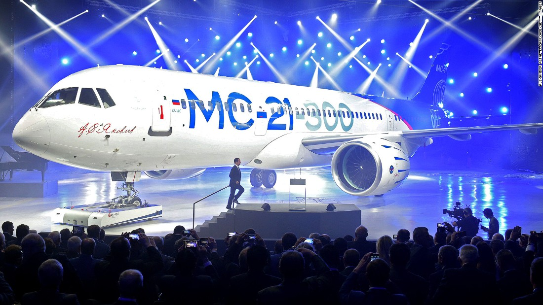 As will Russia's MC-21, one of the latest midsize passenger jet challengers. Its first flight is expected for late 2016 or early 2017.