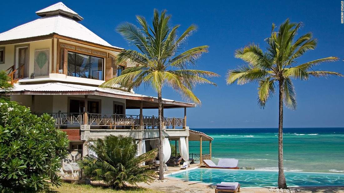 "While proximity to the Indian Ocean is undoubtedly the main attraction -- scuba diving and snorkeling, kite surfing and deep-sea fishing -- <a href=""http://www.alfajirivillas.com"" target=""_blank"">Alfajiri</a> is also an ideal base for exploring coastal game reserves like Shimba Hills and Mwaluganje Elephant Sanctuary."