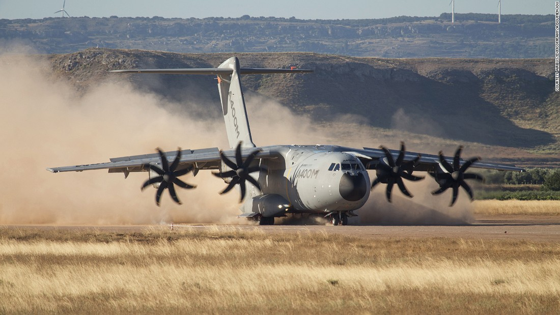 Visitors will have a chance to command a simulated aircraft including an A400M military transport (pictured here) or take a virtual walk on Mars.