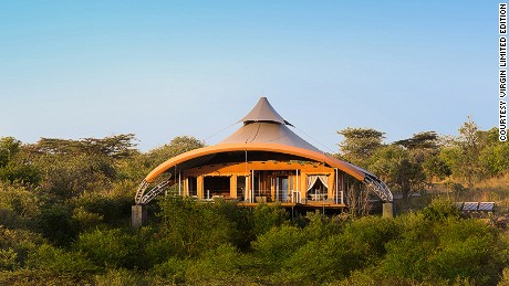The accommodation at Mahali Mzuri was designed by Nairobi-based Jan Allen.