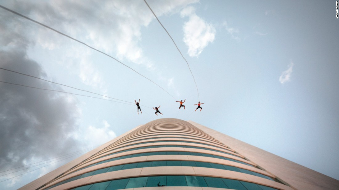 BANDALOOP are re-imagining dance, using the sides of skyscrapers, bridges, billboards and landmarks to stage their spectacular routines.