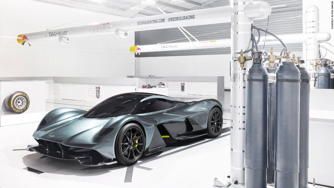 The AM-RB 001 is the result of a collaboration between Aston Martin and Red Bull Racing.