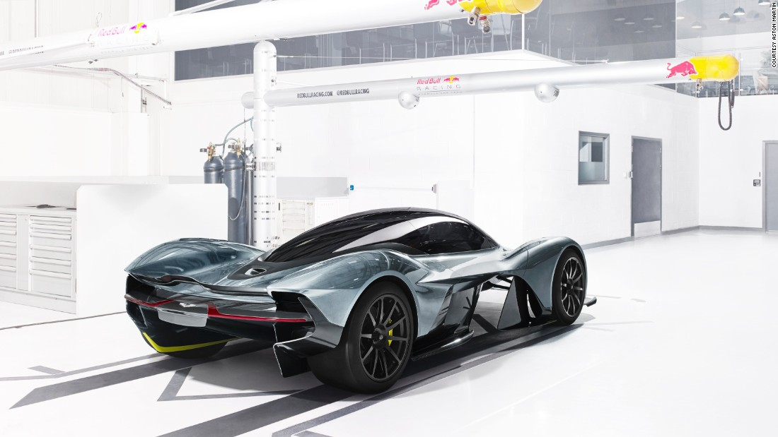 Just 99 of the AM-RB 001 are expected to be made.