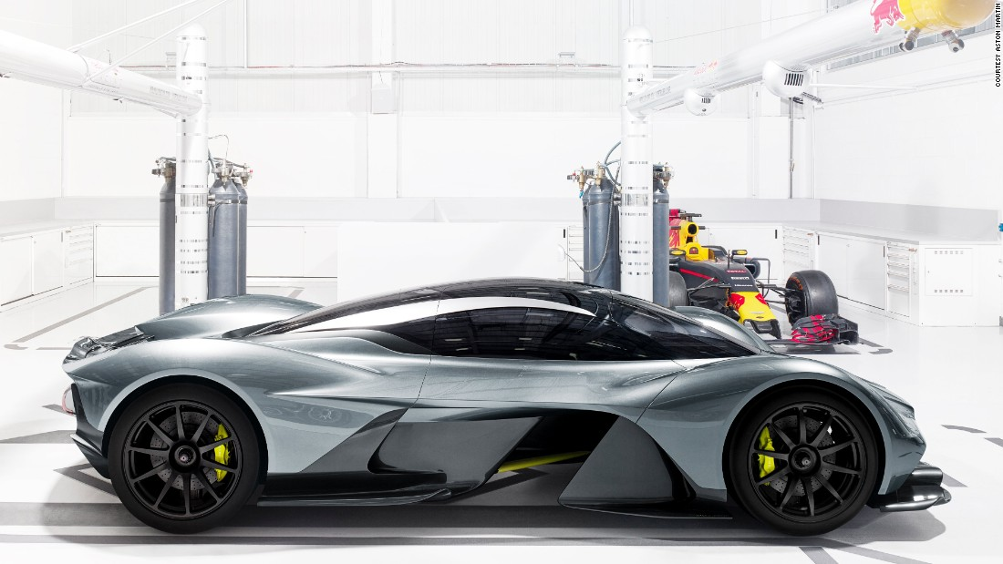 The AM-RB 001 is expected to be offered in road and track-focused versions.