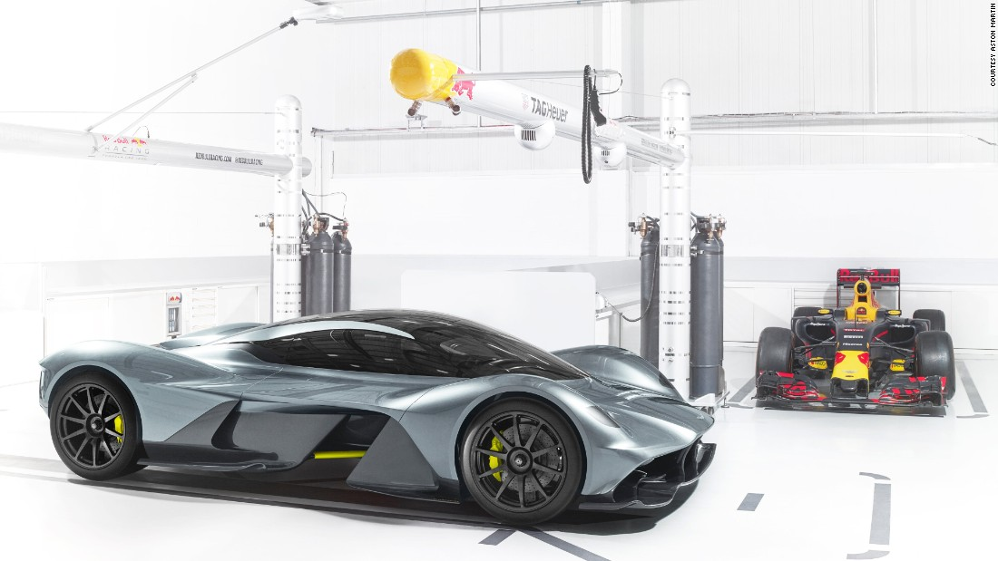 Aston is suggesting the AM-RB 001 should be able to lap circuits as quickly as a modern-day F1 car.
