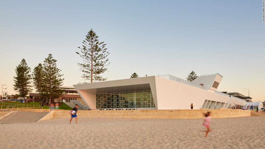 City Beach Surf Life Saving Club in Perth, Australia, designed by Christou Design Group, won a 2016 Western Australian Architecture award.