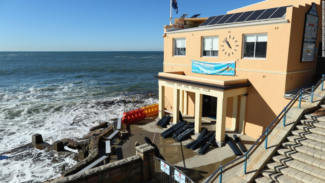 Coogee Surf club, which is one of the largest in Australia, opened in 1907 and the first clubhouse -- a wooden shack -- was built in 1910. The current clubhouse suffered extensive damage during a violent storm that hit Sydney in June 2016.
