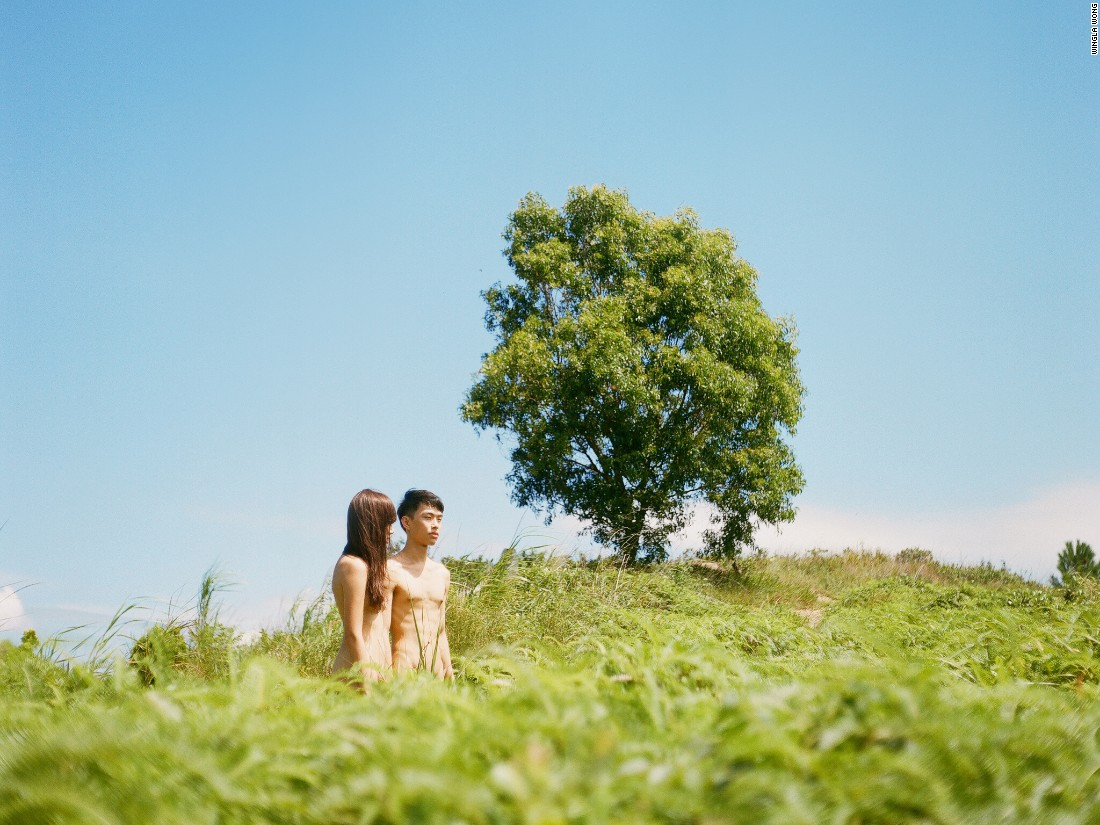 "Currently an university student in Hong Kong, Wingla Wong began taking photos when she was 13, and is interested in merging people with natural landscapes. ""If I'm photographing a girl in nature, I see her as a tree or a stone or a wave,"" she says. ""I like looking at things that other people don't really notice."""