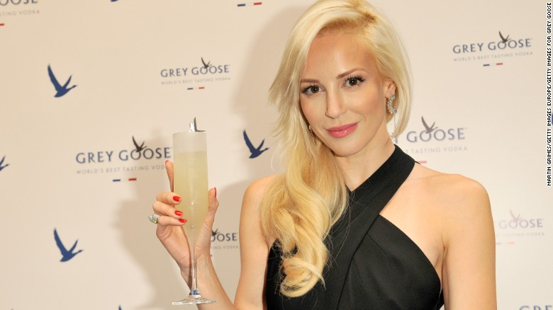 Louise Linton attends GREY GOOSE Le Martini et Vous evening at Devils Advocate on July 16, 2014 in Edinburgh, Scotland.