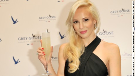 EDINBURGH, SCOTLAND - JULY 16:  Louise Linton attends GREY GOOSE Le Martini et Vous evening at Devils Advocate on July 16, 2014 in Edinburgh, Scotland.  (Photo by Martin Grimes/Getty Images for Grey Goose)