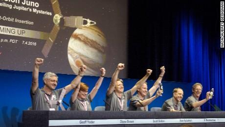 Spacecraft captures unique images of Jupiter