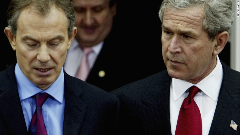 Bush and Blair's War in Iraq
