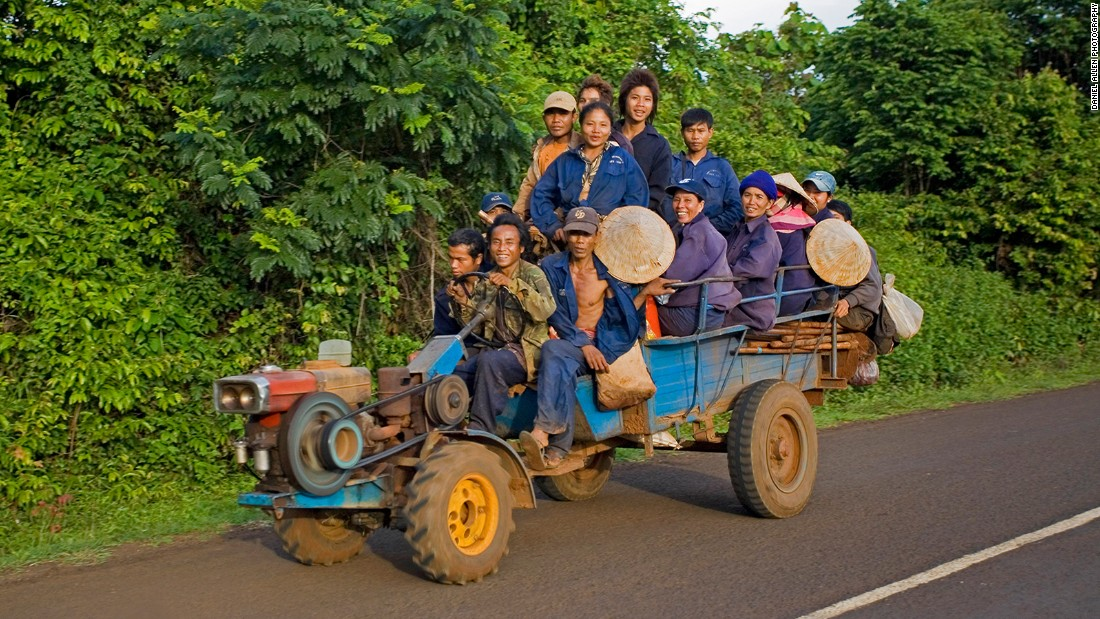 "Many workers on the Bolaven coffee plantations are members of the Laven tribe. It was the Laven people, whose ancestors were part of the great Khmer empire that flourished from the ninth to the thirteenth centuries, who gave the Bolaven its name -- which means ""home of the Laven"" in Lao."