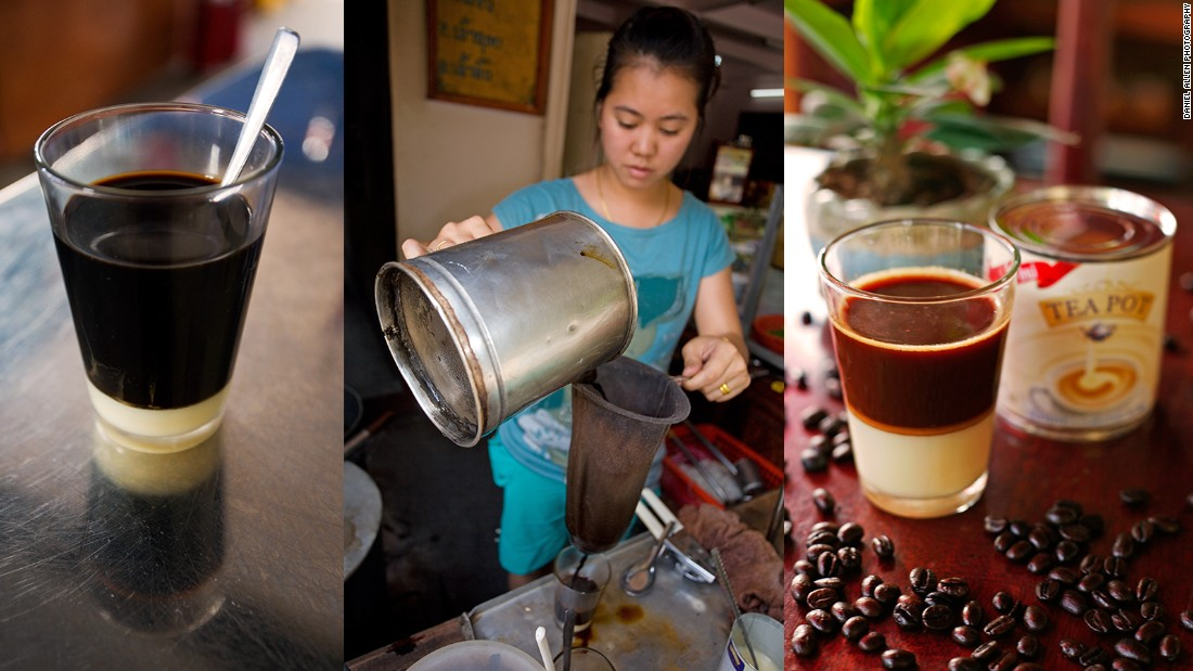 Today, Laos produces between 20,000 to 25,000 tons of coffee per year, of which just under half is Arabica, and the rest Robusta. While Robusta is easier to grow, Arabica beans yield better-tasting coffee. Arabica is generally used for espresso and quality coffee blends, and Robusta for instant coffee as well as the typical Lao coffee made with sweet condensed milk. It's certainly an acquired taste, but for many, it makes the perfect complement to an early-morning Laotian baguette.