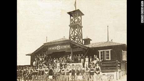 The original timber club house at North Bondi