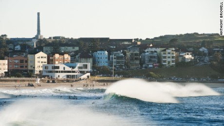 The new North Bondi surf club on Sydney's iconic Bondi Beach