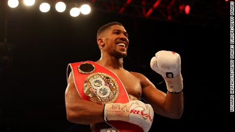 90-second knockout: Anthony Joshua on fame and Rocky