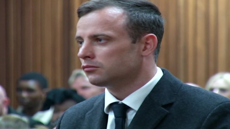 Oscar Pistorius sentenced to 6 years in prison