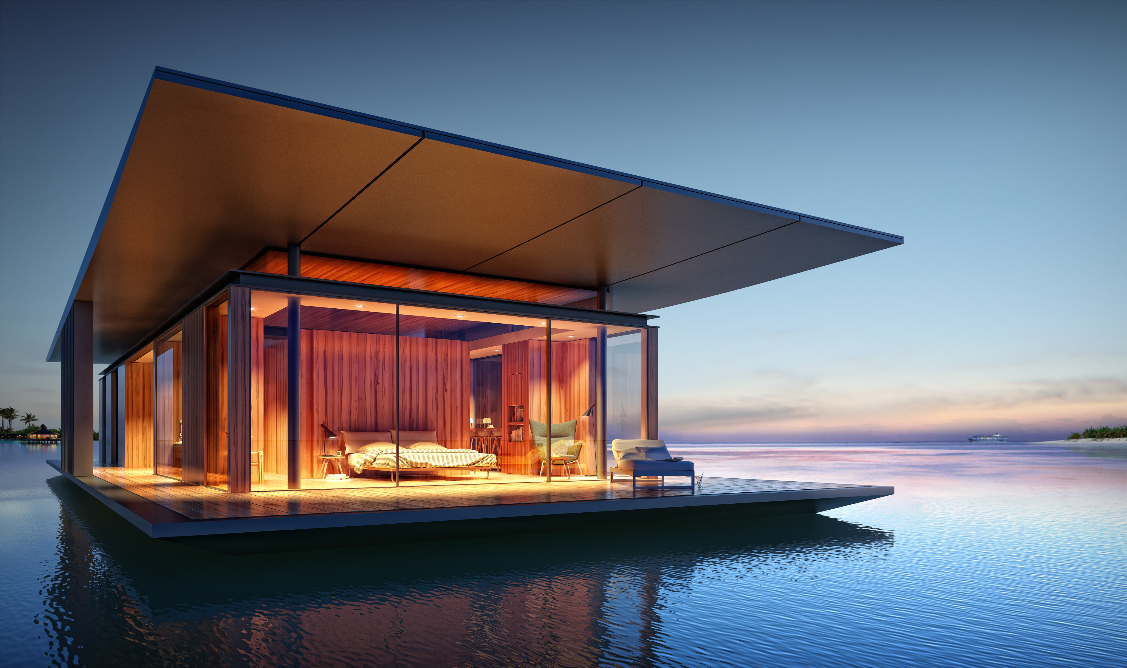 Floating Home Manufacturers Would You Live Underwater Cnn Style