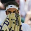 Roger Federer Wimbledon Quarterfinal
