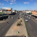 Zimbabwe shut down main road