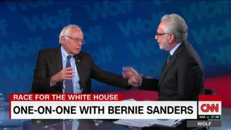 Bernie sanders calls Wolf Blitzer Jake Tapper origwx jm_00000624
