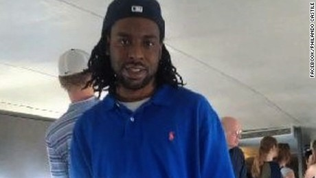 Philando Castile was shot by police after being pulled over in a traffic stop.
