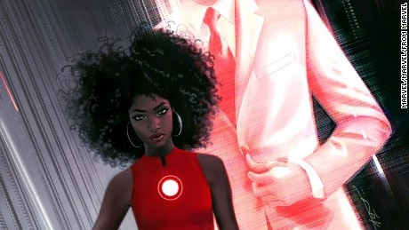 Marvel's new Iron Man is a black female