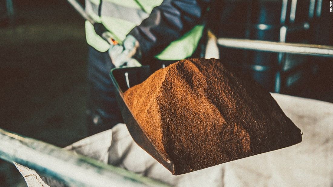 Every day, the UK consumes around 70 million cups of coffee with thousands of tons of ground coffee going to waste.