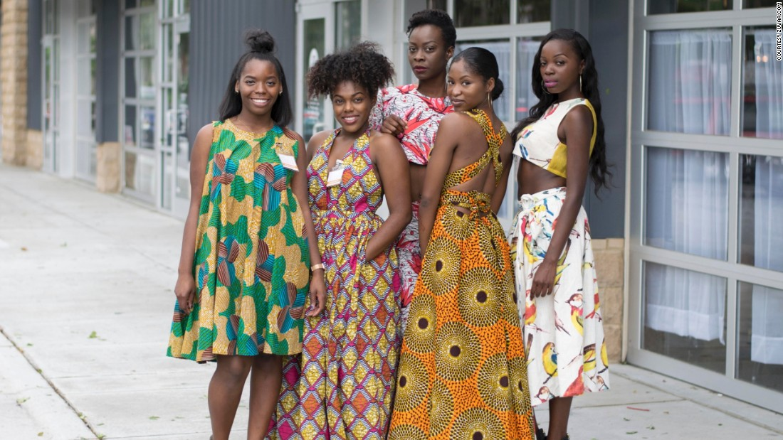 """I didn't really know what I was getting into, I just had a vision and I was excited about where that would take me,"" Anyadiegwu told CNN in an interview.  After receiving compliments on her African-inspired outfits, she saw the perfect business opportunity."
