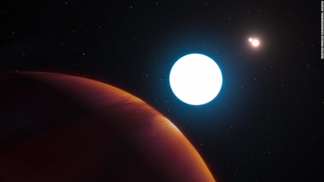 Astronomers discover 7 Earth-sized planets orbiting nearby star ...