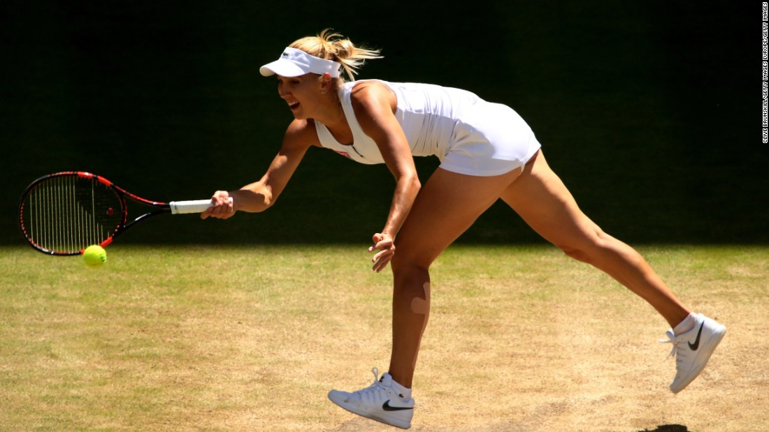 Vesnina, a doubles specialist, was appearing in her first grand slam singles semifinal. Underlining her dominance, world No. 1 Williams lost just one point on her first serve.