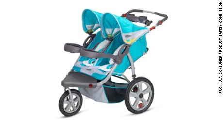Jogging strollers recalled after 215 injuries reported