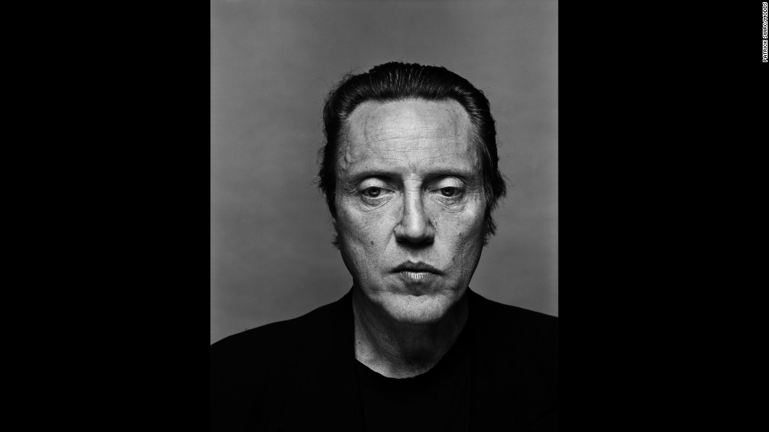 "Actor Christopher Walken is among the many famous faces in ""Disobedience,"" the latest series of celebrity portraits by Patrick Swirc. Swirc remembers that he didn't have much time to work with Walken: "" 'I'm doing three photos,' (Walken) said. Then he left."""