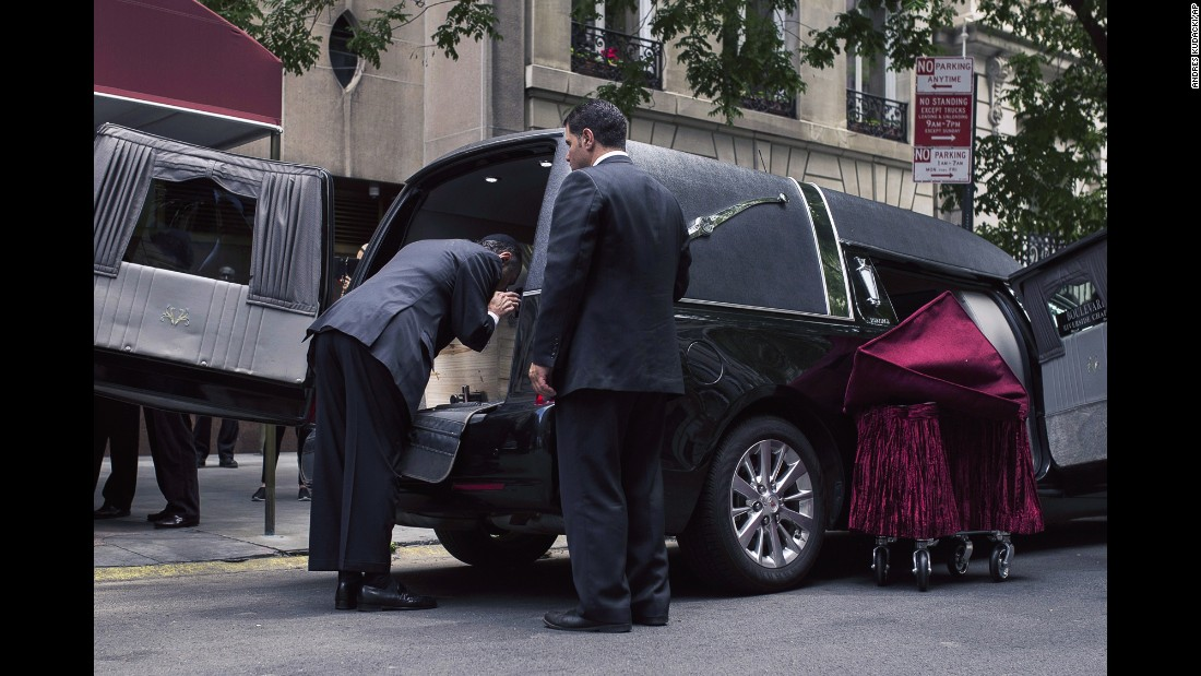 "Cantor Joseph Malovany kisses Elie Wiesel's coffin after a private service for the Nobel laureate in New York on Sunday, July 3. Wiesel, a Holocaust survivor and author who fought for peace, human rights and simple human decency, <a href=""http://www.cnn.com/2016/07/02/world/elie-wiesel-dies/"" target=""_blank"">died after a long illness,</a> his family said. He was 87."
