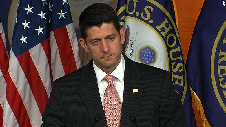 Paul Ryan threatens consquences for gun bill sit-in
