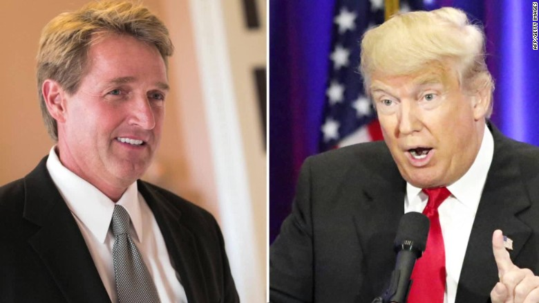 Trump to Senator Flake: Support me or else