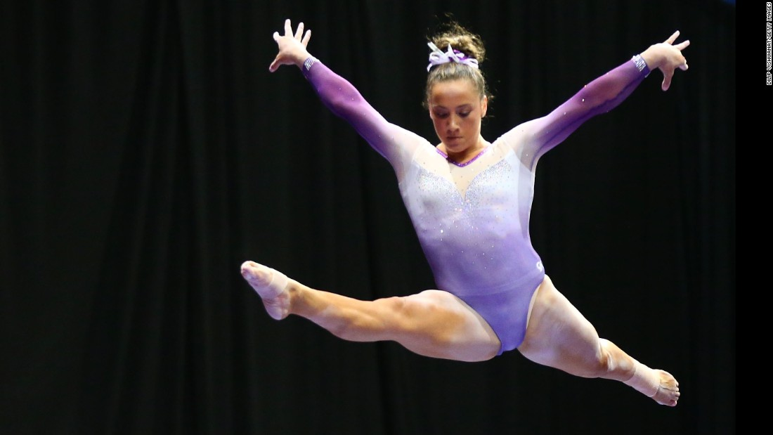 Amelia Hundley placed sixth in the all-around at this year's P&G Championships.